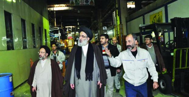 آیین نکوداشت  ذاکرین  اهل بیت  در شرکت سایپا با حضور امامجمعه کرج برگزار شد
