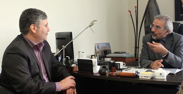 رئیس اتاق بازرگانی البرز در نشستی با سرپرست روزنامه ایران در استان مطرح کرد بهرهمندی از خرد جمعی اولویت اتاق بازرگانی البرز
