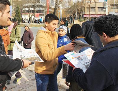 با حضور در راهپیمایى ۲۲ بهمن ایران البرز سنگ تمام گذاشت