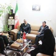 فرمانده انتظامی البرز در بازدید از دفتر سرپرستی روزنامه ایران اعلام کرد:  نقش سازنده رسانهها  در انتقال هشدارهای پلیس
