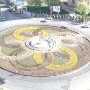 میدان شهرداری شهر جدید هشتگرد  یک ماهه بازسازی شد