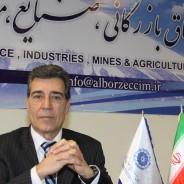 نايب رئيس دوم اتاق بازرگاني البرز اعلام کرد افزایش توليد مؤثرترين راه برونرفت از رشد اقتصاد منفي