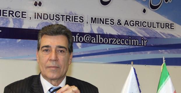 نایب رئیس دوم اتاق بازرگانی البرز اعلام کرد افزایش تولید مؤثرترین راه برونرفت از رشد اقتصاد منفی