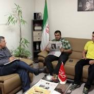 قهرمان کیک بوکسینگ کشور و جهان تأکید کرد جایگاه  شایسته  استان البرز در ورزشهای رزمی کشور