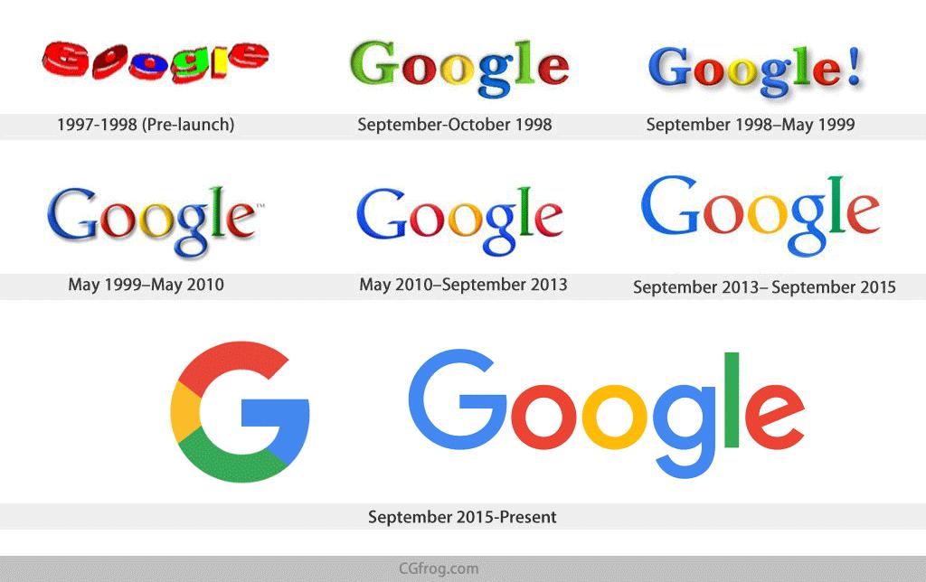 سرگذشت لوگوی گوگل(قسمت اول)