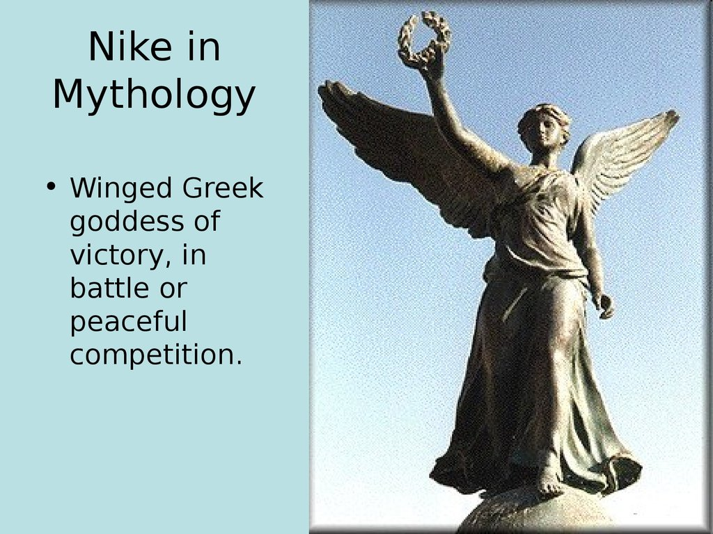 Monument to the Goddess of victory Nike